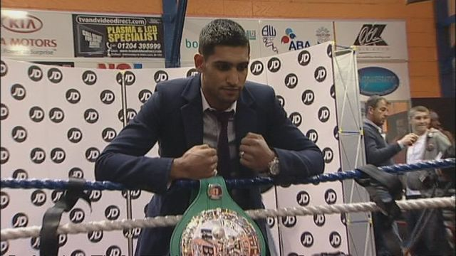 News video: Boxer Amir Khan arrested in Bolton