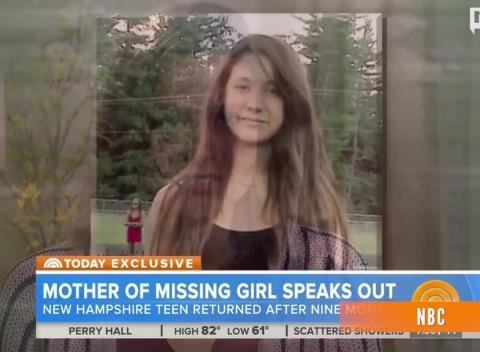 News video: Mother Says Teen's 9-Month Disappearance Wasn't Due To Pregnancy