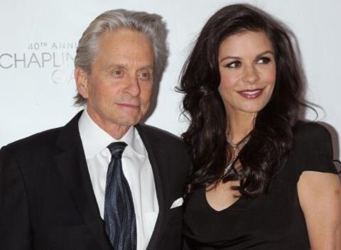 News video: Michael Douglas And Catherine Zeta-Jones Open Up About His Battle With Throat Cancer