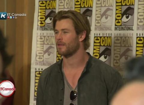 News video: 'The Avengers' Cast At Comic-Con