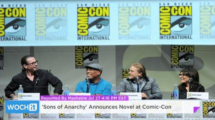 News video: 'Sons Of Anarchy' Announces Novel At Comic-Con