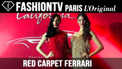 News video: Ferrari Red Carpet: The Exclusive Preview of CaliforniaT | FashionTV